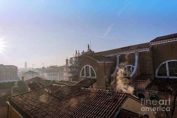 Photograph - The Roofs Of Venice.dawn by Marina Usmanskaya