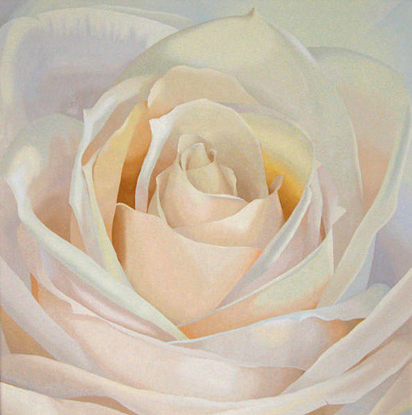 Wall Art - Painting - The Rose Queen by Thaw Malin III
