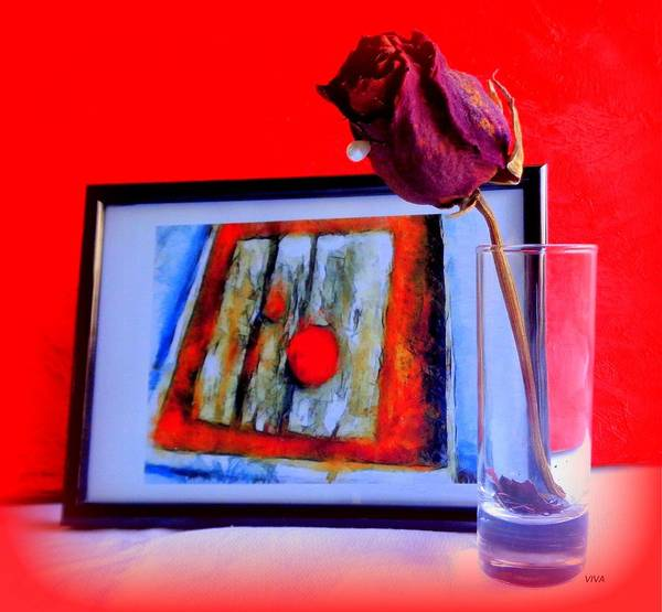 Photograph - The Rose - The Way We Were by VIVA Anderson