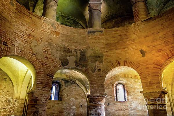 Photograph - The Rotonda San Lorenzo Interior by Marina Usmanskaya