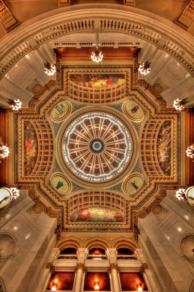 Harrisburg Pa Photograph - The Rotunda by Lori Deiter