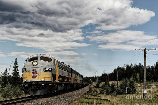 Photograph - The Royal Canadian Pacific  by Brad Allen Fine Art
