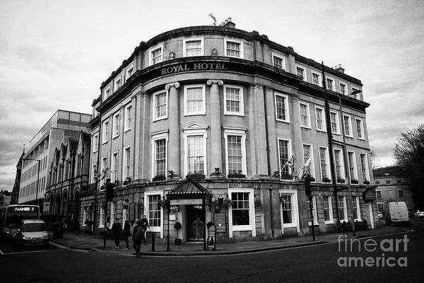 Wall Art - Photograph - The Royal Hotel Bath England Uk by Joe Fox