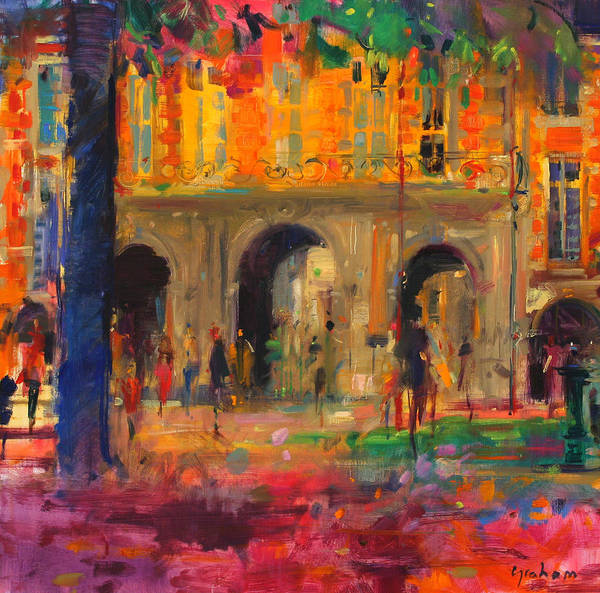 Portico Painting - The Royal Pavillion by Peter Graham