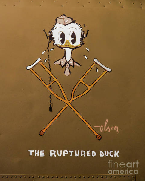 Photograph - The Ruptured Duck by Jon Burch Photography
