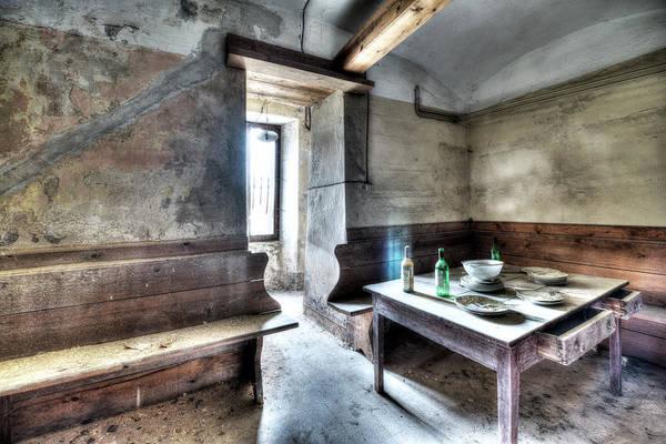 Photograph - The Rural Kitchen - La Cucina Rustica  by Enrico Pelos