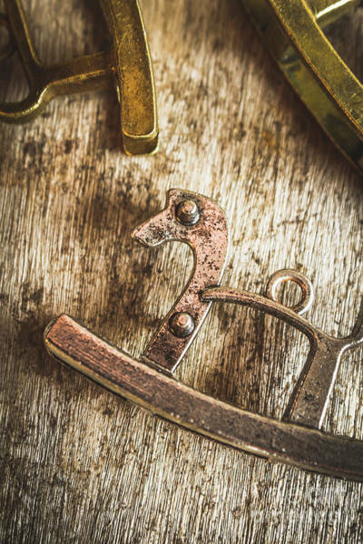 Brass Photograph - The Rusted Toy Horse by Jorgo Photography - Wall Art Gallery