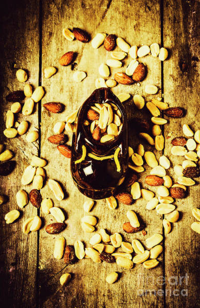 Wooden Shoe Photograph - The Rustic Nut Scene by Jorgo Photography - Wall Art Gallery