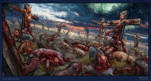 The Sacrifice Art Print