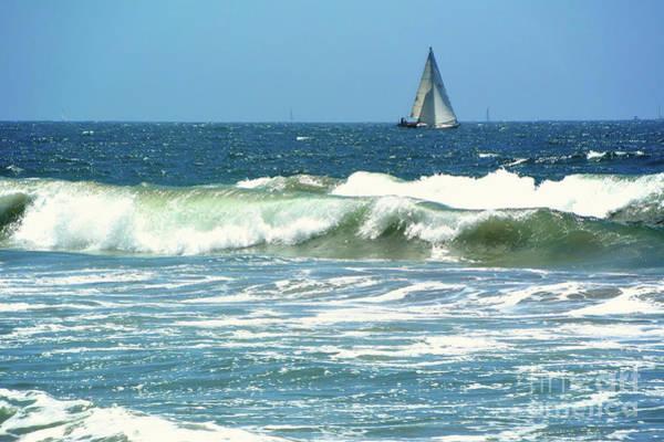 Photograph - The Sailboat by Joe Lach