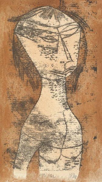 Relief - The Saint Of The Inner Light by Paul Klee