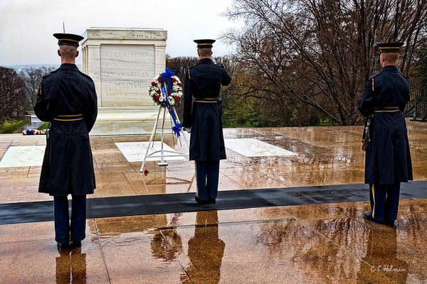 Photograph - The Salute by Christopher Holmes