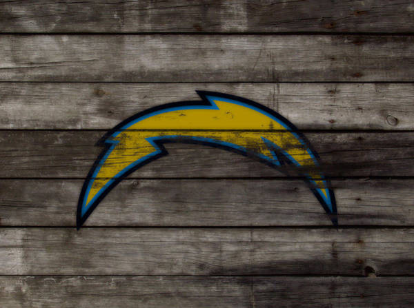 Bambi Mixed Media - The San Diego Chargers 3b        by Brian Reaves