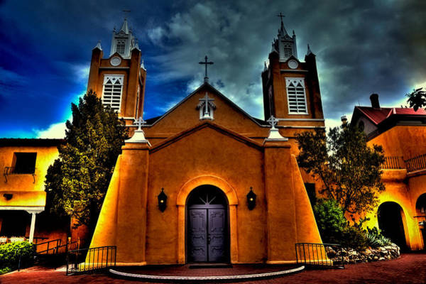 Photograph - The San Felipe De Neri Church by David Patterson