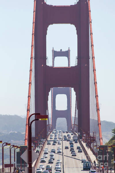 Photograph - The San Francisco Golden Gate Bridge 5d2941 by San Francisco Art and Photography
