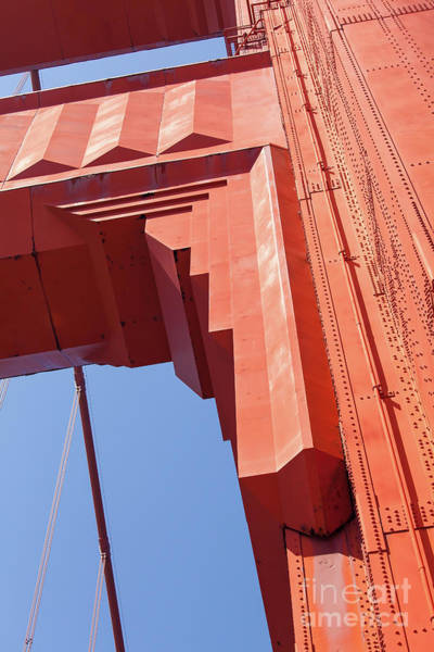 The San Francisco Golden Gate Bridge 5d3000 Art Print