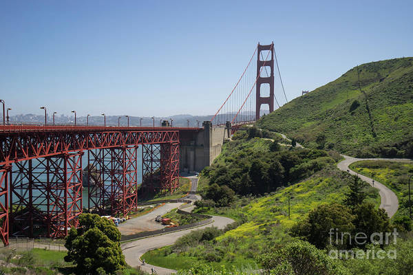 Photograph - The San Francisco Golden Gate Bridge Dsc6139 by San Francisco Art and Photography