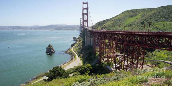 Photograph - The San Francisco Golden Gate Bridge Dsc6146long by Wingsdomain Art and Photography
