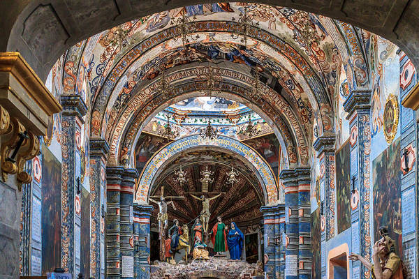 Atotonilco Photograph - The Sanctuary by Fred  Boehm