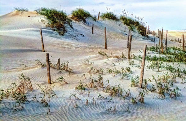 Photograph - The Sands Of Obx Hdr by Greg Reed