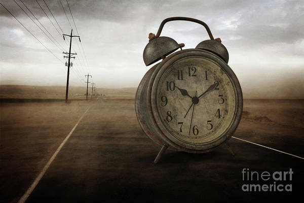 Digital Art - The Sands Of Time Surreal by Edward Fielding