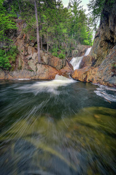 Wall Art - Photograph - The Sandy River At Smalls Falls by Rick Berk
