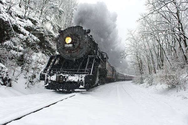 Chesapeake And Ohio Wall Art - Photograph - The Santa Express by Bernard Chen