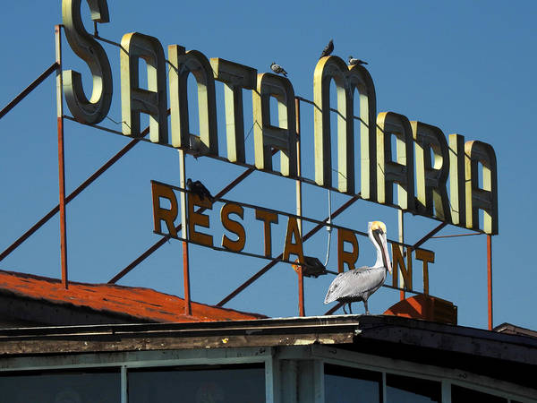 Photograph - The Santa Maria by Rod Seel