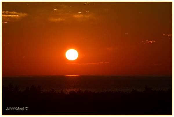 Greetingcards Photograph - The Saugatuck Sunset by Sonali Gangane