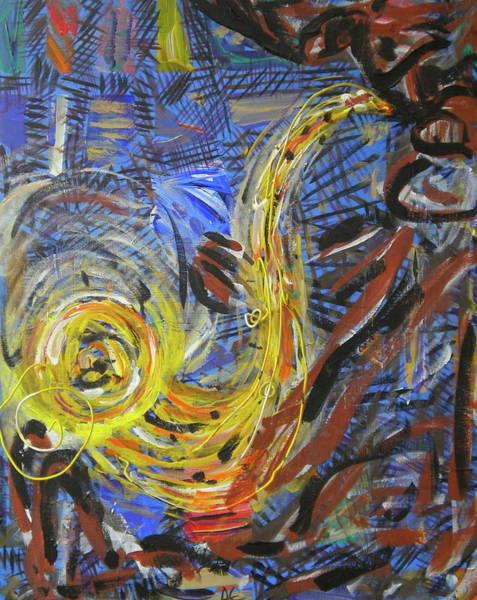 The Sax Man Art Print