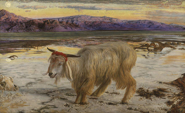 Painting - The Scapegoat by William Holman Hunt