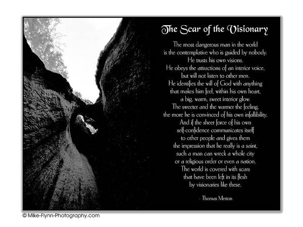 The Harbinger Photograph - The Scar Of The Visionary by Mike Flynn