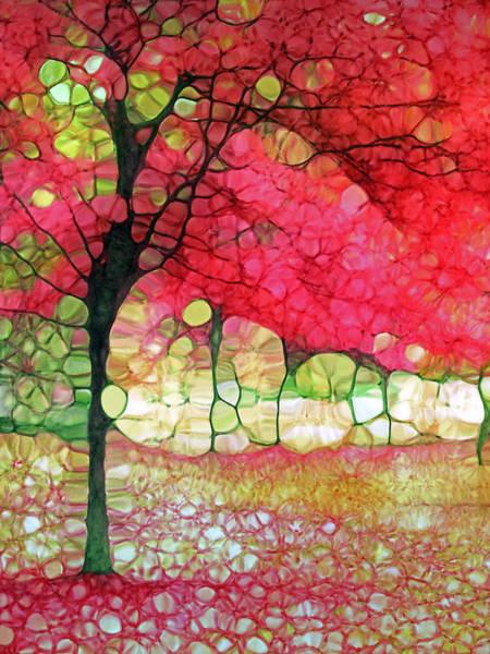 Photograph - The Scarlet Tree by Tara Turner