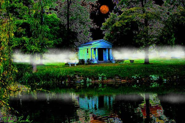 Digital Art - The Cemetery  by Michael Rucker