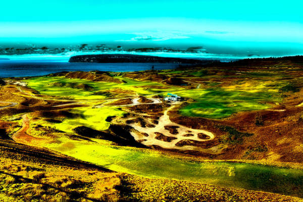Photograph - The Scenic Chambers Bay Golf Course by David Patterson