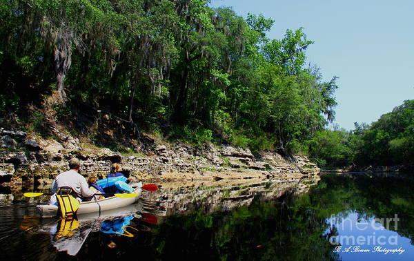 Photograph - The Scenic Suwannee River by Barbara Bowen