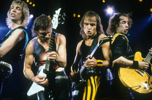 Photograph - The Scorpions by Rich Fuscia
