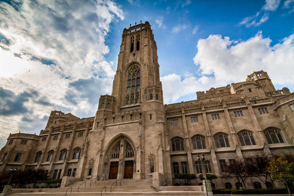 Photograph - The Scottish Rite Cathedral - Indianapolis by Ron Pate