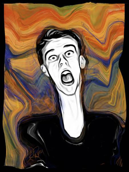 Wall Art - Digital Art - The Scream by Russell Pierce