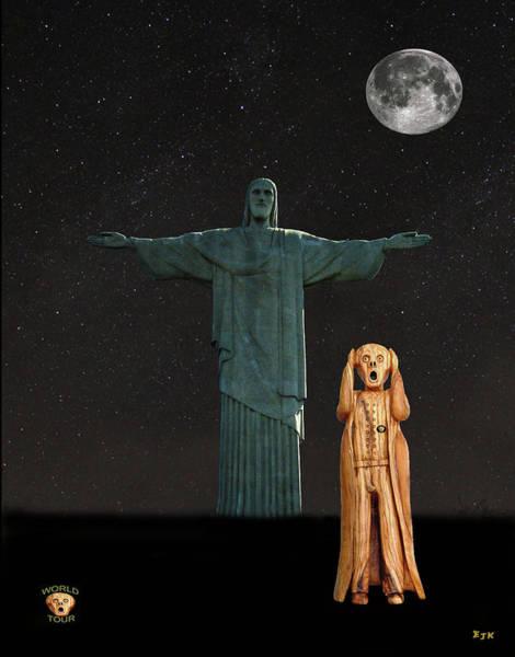 Mixed Media - The Scream World Tour Rio by Eric Kempson