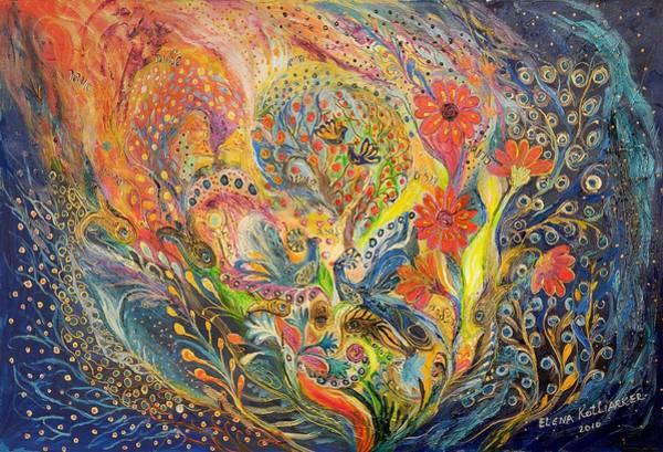 Wall Art - Painting - The Sea Dream by Elena Kotliarker