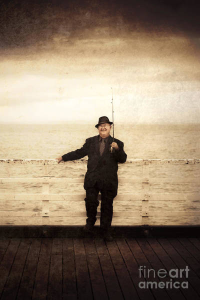 Angling Art Wall Art - Photograph - The Sea Merchant by Jorgo Photography - Wall Art Gallery