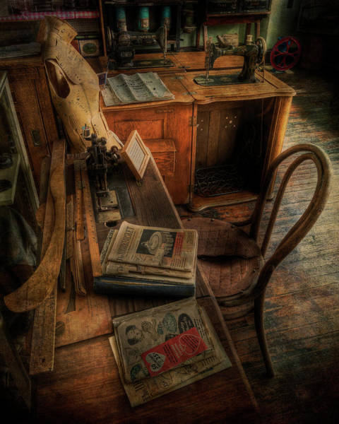 Photograph - The Seamstress Will Be Back Shortly by Doug Matthews