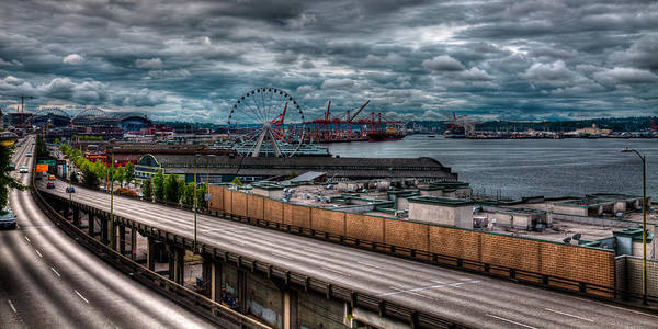 Photograph - The Seattle Skyline Panorama by David Patterson
