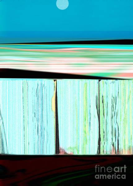 Wall Art - Mixed Media - The Seawalls No. 1 Sunrise by Zsanan Studio