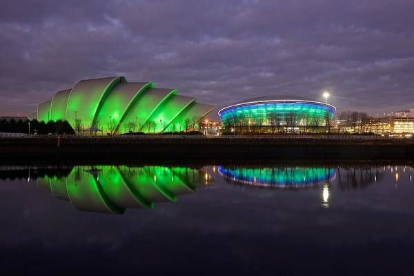 Photograph - The Secc And Sse Hydro by Stephen Taylor