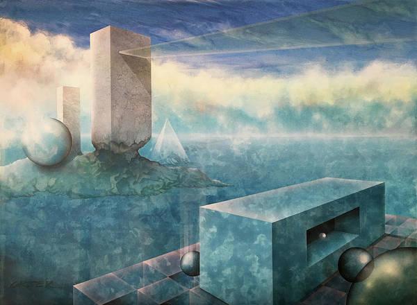 Metaphor Painting - The Secret Bridge by Gary Greer