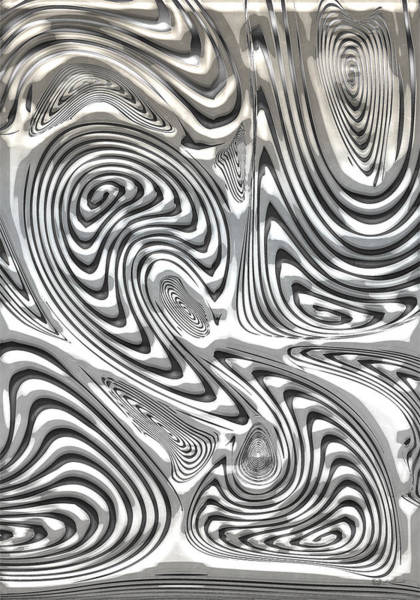 Digital Art - The Secret Of Damascus Steel  by Serge Averbukh