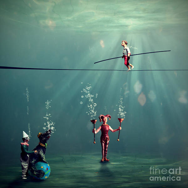 Circus Photograph - The Secret Venetian Circus by Martine Roch
