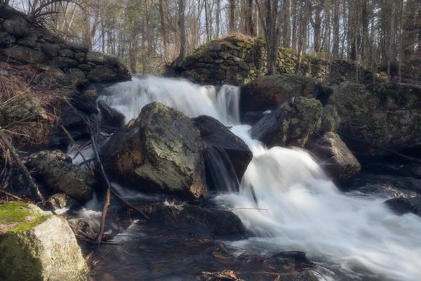 The Secret Waterfall 1 Art Print